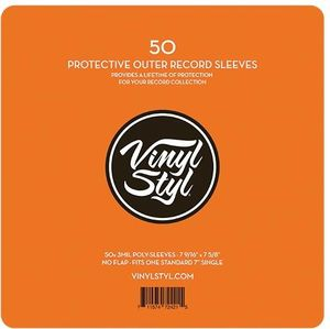 Check Out Our Vinyl Styl Poly Sleeves For 7 Singles